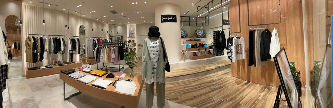 2021年9月3日から2022年1月16日まで、なんばパークス2階にて期間限定ショップをオープンいたします。 新店の名前は「JasminSpeaks + plus(ジャスミンスピークス プラス) 」。