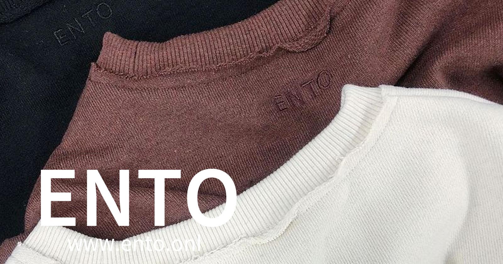 レディースファッションブランドENTO(エント)2021年秋冬コレクション!「ENTO」のロゴ刺繍をあしらい、サステナブルな生地を使用した地球にも人にも優しいお洋服が新登場。