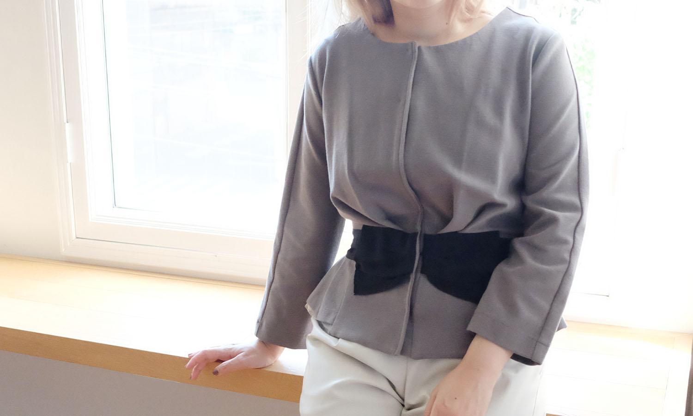リボンデザインが可愛らしい神戸・山の手ジャケット
