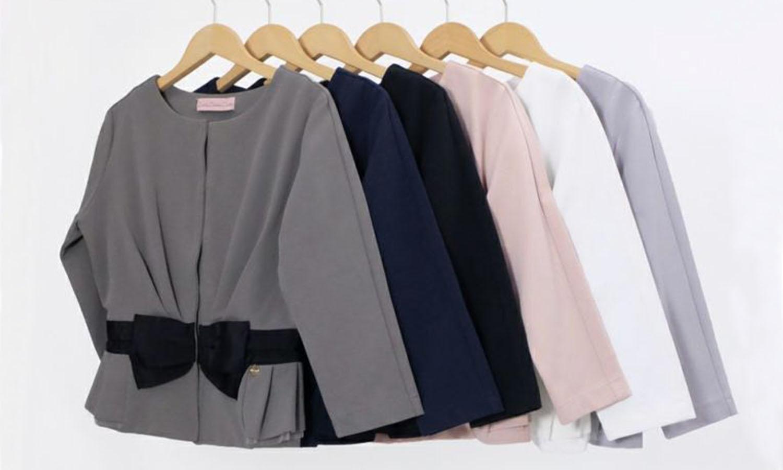 豊富なカラー展開の神戸・山の手ジャケット
