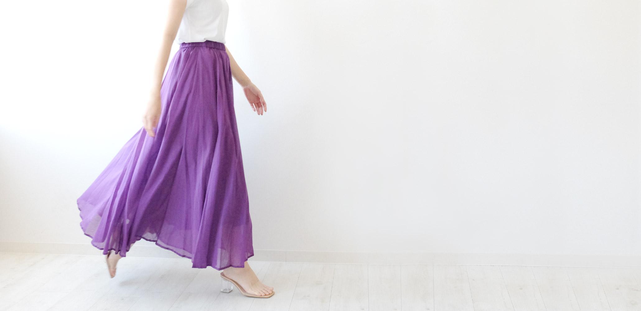 TRECODE人気のサマースカートは、2BUY10%3BUY20%OFF対象