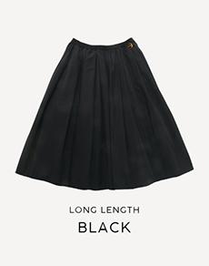 ロング丈ブラック