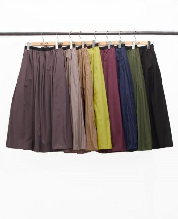 神戸・山の手スカート 選べる長さ4レングス ミドル ロング ミモレ マキシ ママコーデ カラー展開豊富