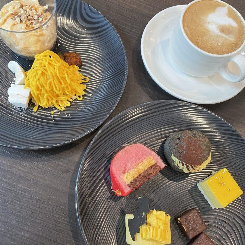 リーガロイヤルホテル大阪のビュッフェはデザートも充実していておすすめです